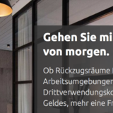 Relaunch of the website for the real estate agents bienen + partner from Mönchengladbach